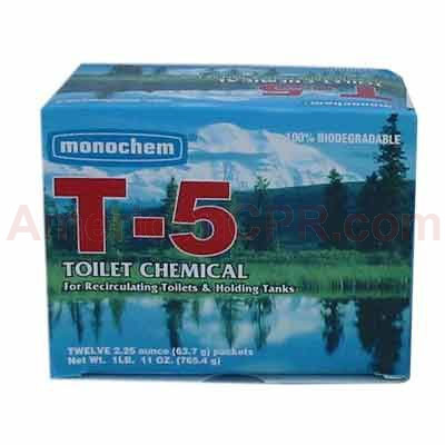 Port-A-Potty Chemicals (T-5) 1 Packet - Value Brand