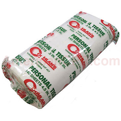 Campers Single Roll of Toilet Paper - Value Brand