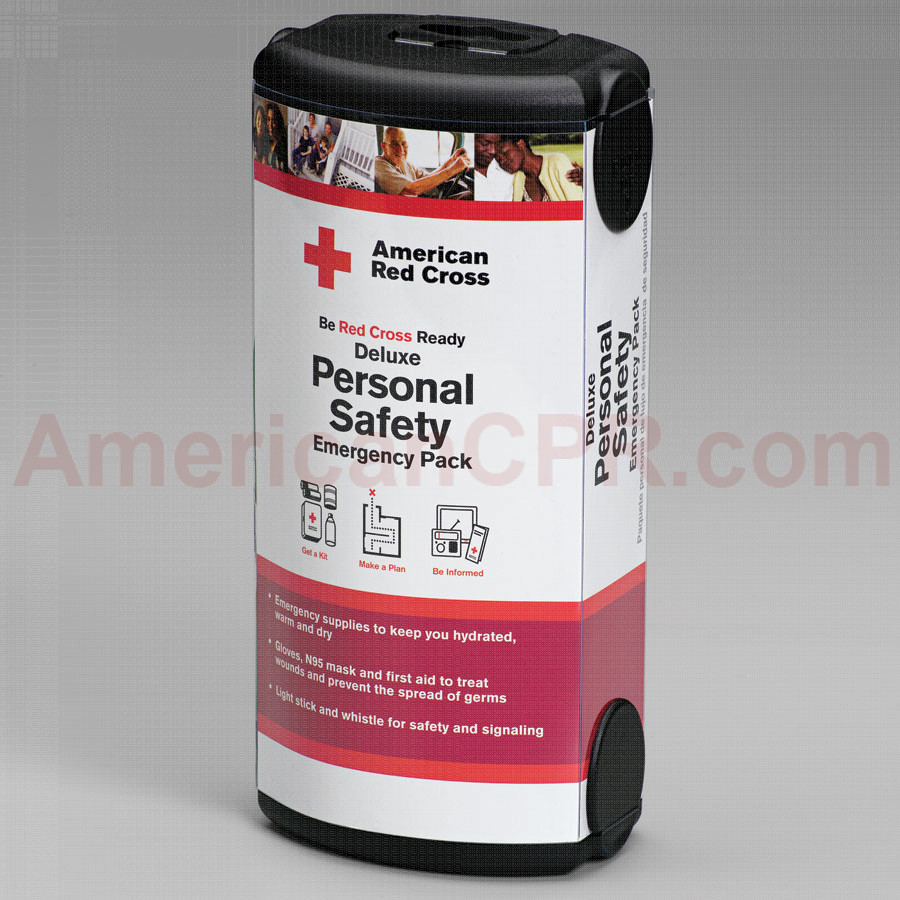 Be Red Cross Ready: Personal Emergency Preparedness Kit - American Red Cross