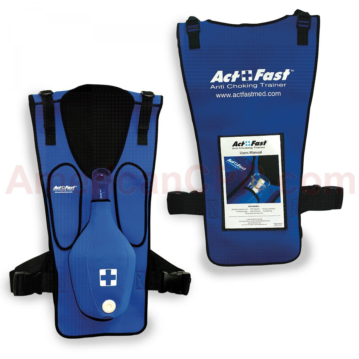 Act+Fast Anti-Choking Blue Trainer - Single Trainer, Act Fast Medical