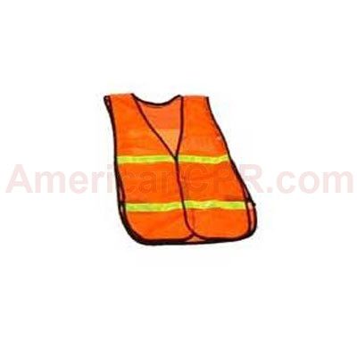 Safety Vest with a Clear Insert - Value Brand