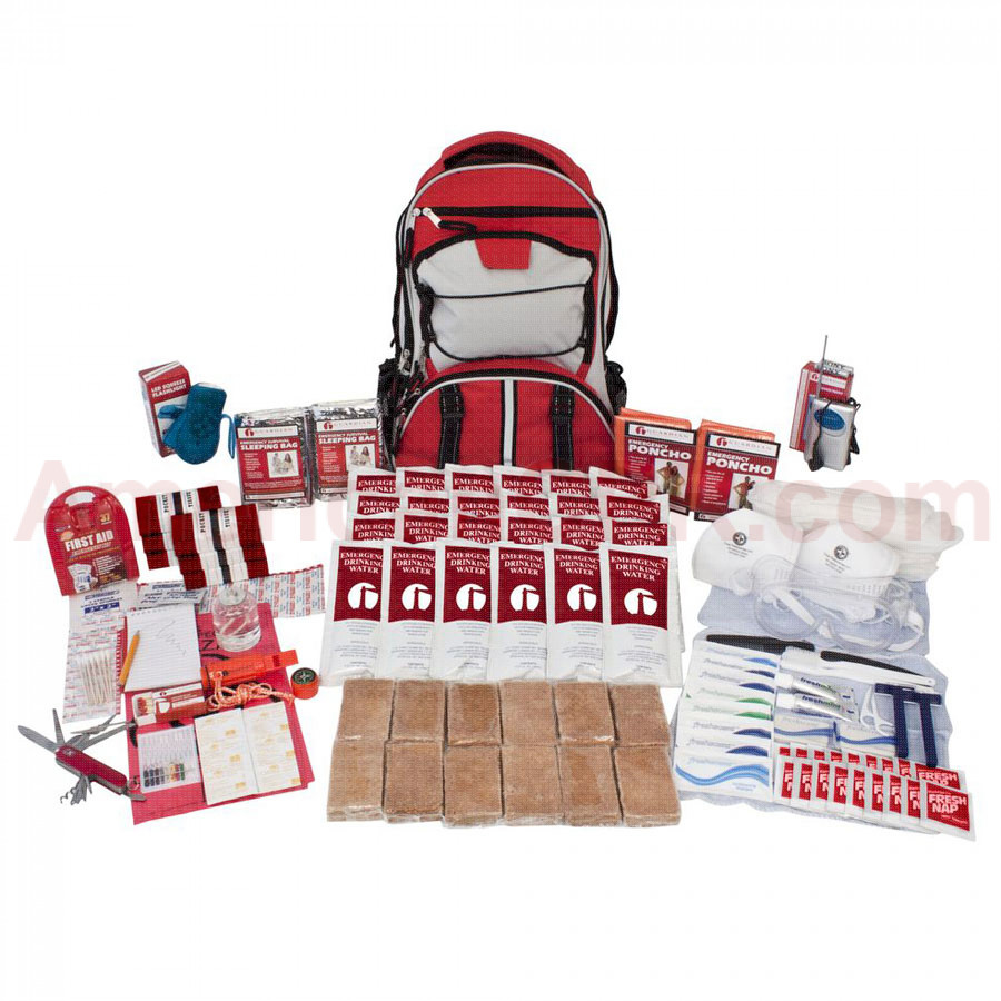 2 Person Guardian Deluxe Survival Kit - Guardian Survival Gear
