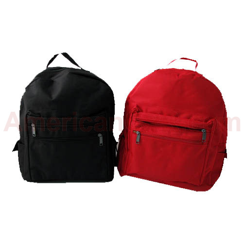 Adult Size Back Pack (Nylon) Red - Mayday