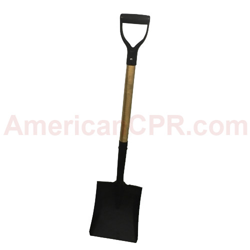 Flat or Round Point Shovel (Short) - Value Brand