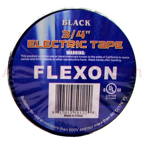 Electrical Tape 3/4 x 60 UL - Value Brand