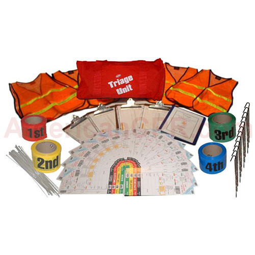 Basic Triage Unit Kit - Value Brand