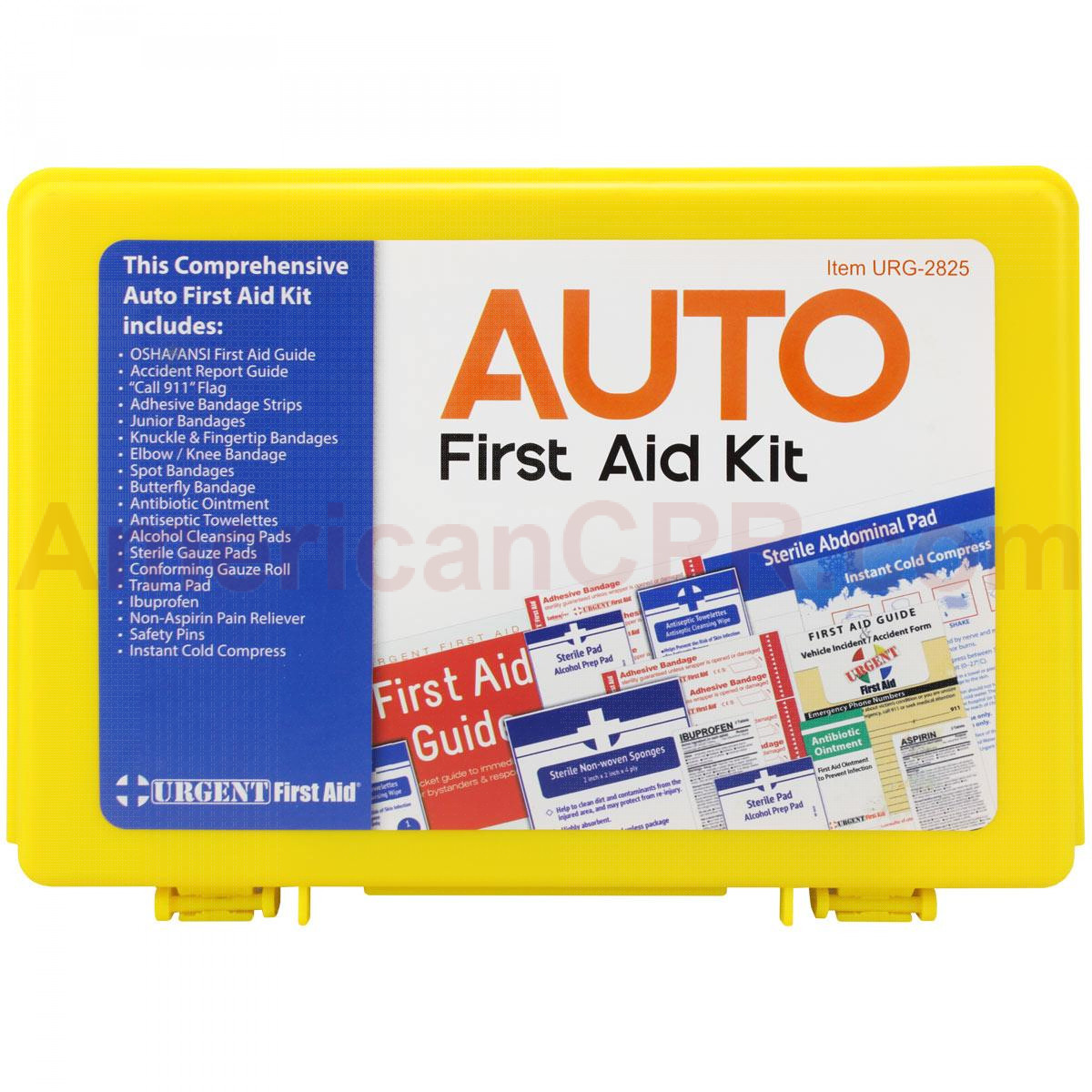 Fundraiser Auto First Aid Kit - Urgent First aid
