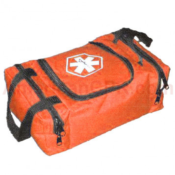 Empty First Responder Bag (Jump Bag) - Orange - Urgent First Aid