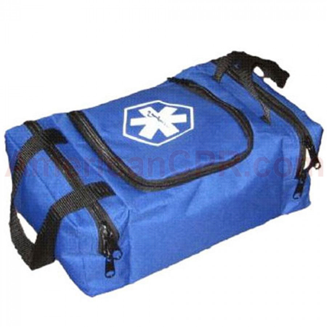 Empty First Responder Bag (Jump Bag) - Blue - Urgent First Aid