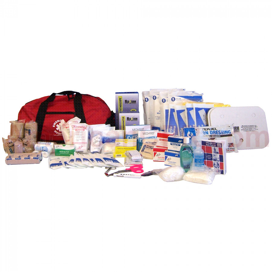 Major Trauma Kit - 246 Pieces - Soft Sided - Urgent First Aid
