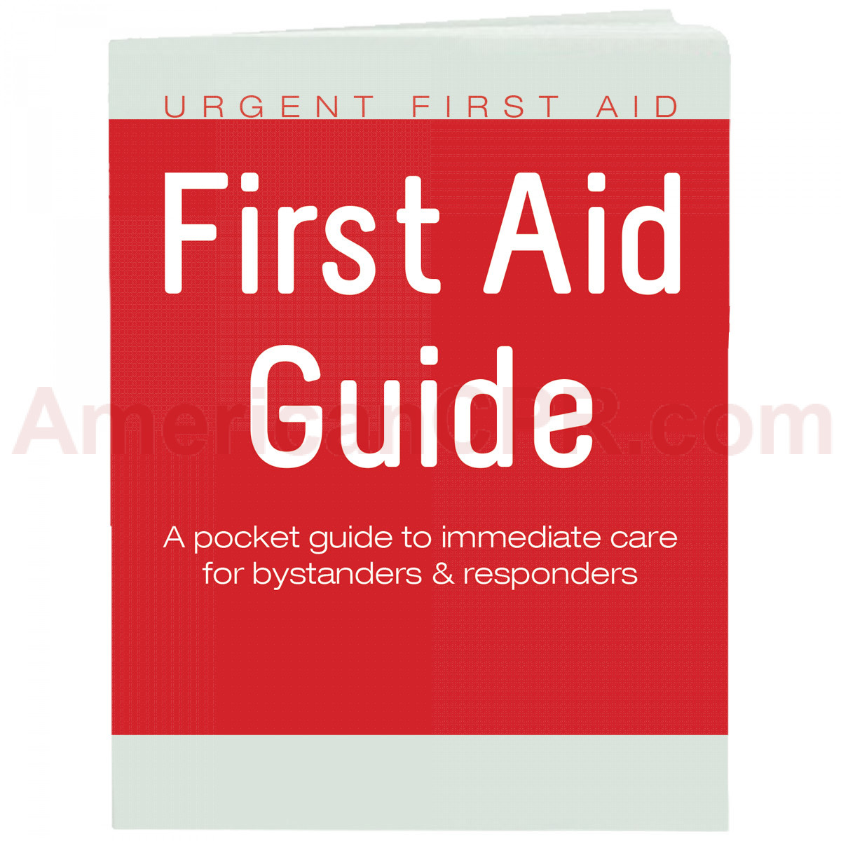 Urgent First Aid Guide with CPR & AED  - 52 Pages - Urgent First Aid