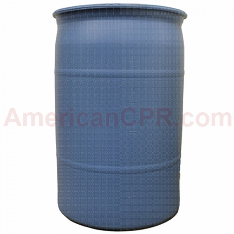 30 Gallon Water Barrel DOT Approved - Value Brand