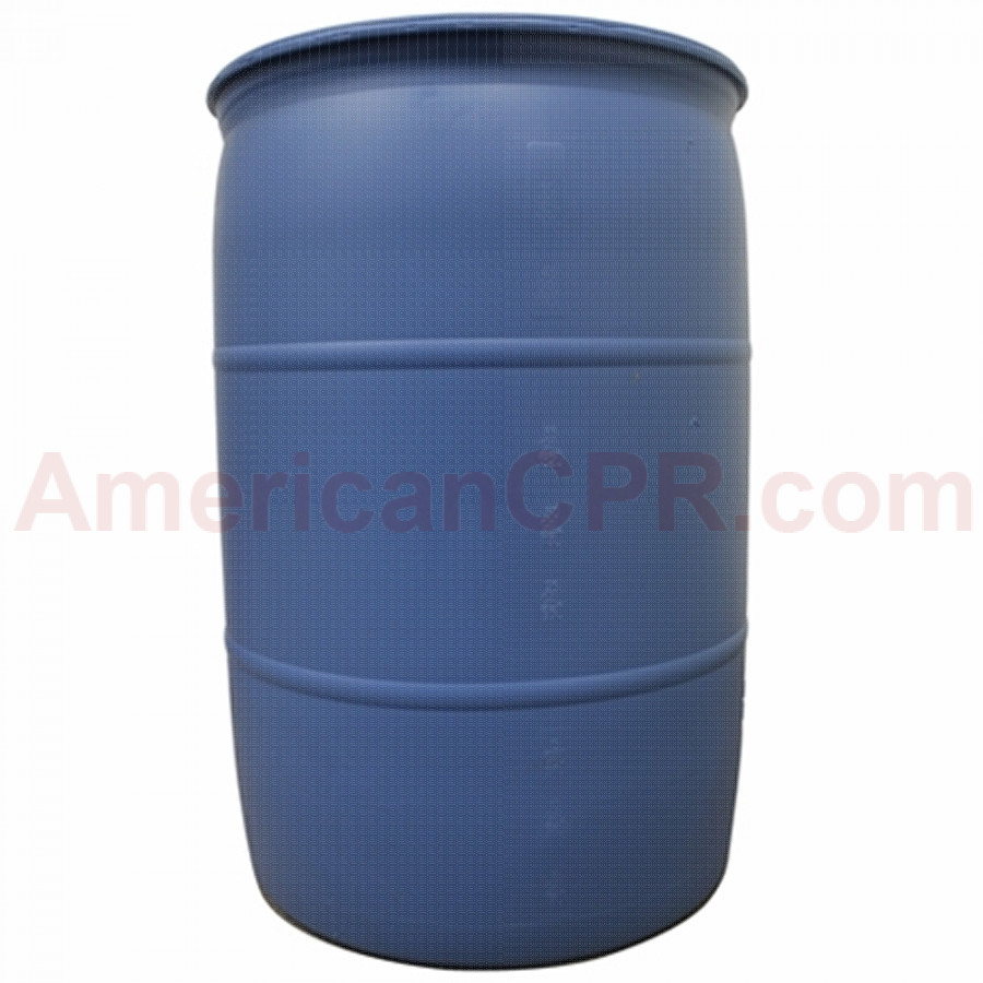 55 Gallon Water Barrel DOT Approved - Value Brand