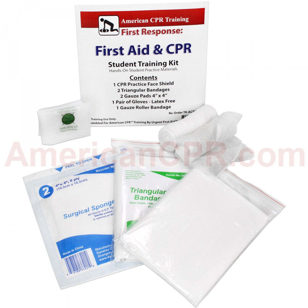 7ae1d8b7c7 American CPR Training™ | CPR & First Aid Student Training Kit, 8 ...