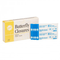 Adhesive Butterfly Closure - 16 Per Box - Hart Health