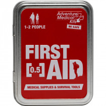The Adventure Medical Adventure First Aid 0.5 Kit - First aid kit in a tin!