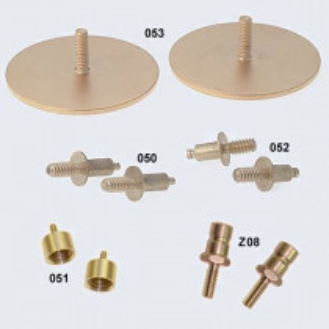 Manual Defibrillation Adapters for Defib / CPR Manikin - 2 Per Pack - Simulaids