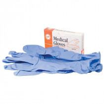 Nitrile Exam Gloves, 2 pairs per box, Hart Health