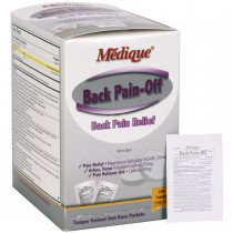 Back Pain-Off, 200/box, Medique