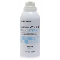 Saline Wound Flush 3 oz. Spray Can Sterile, McKesson