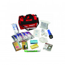 Deluxe Earthquake Preparedness Kit - 62 Pieces - North