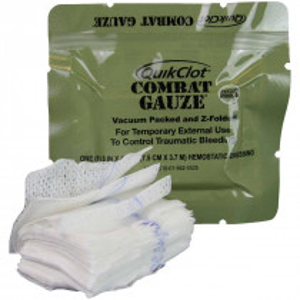 QuikClot Combat Gauze, Z-Fold, Military, Z-Medica