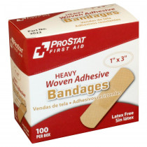 "Heavy Woven Bandage 1"" x3"", 100 per box - Prostat First Aid"