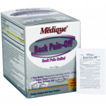 Back Pain-Off - 100 Per Box - Medique
