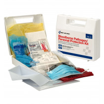 Bloodborne Pathogen/Personal Protection Kit w/ 6 pc CPR - First Aid Only