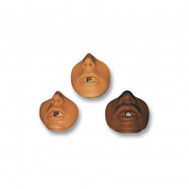 Danny/Kevin African American Channel Mouth/Nose Piece - 10 Per Pack - Simulaids