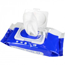 Alcohol Wipes, Large, 75% Alcohol, 50 Wipes Per Pack, MagiCare