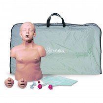 Brad Jr. CPR Training Manikin w/ Carry Bag - Simulaids