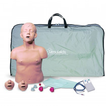 Brad Jr. CPR Training Manikin w/ Electronics and Bag - Simulaids