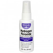 Hydrogen Peroxide Spray, bottle, 2oz., Water-Jel