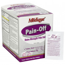 Extra-Strength Pain Reliever Tablets - 100 Per Box - Medique
