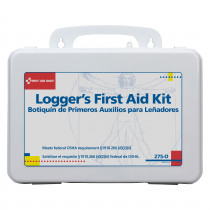 16 Unit Logger First Aid Kit - Plastic - First Aid Only