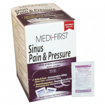 Sinus Pain & Pressure - 250 Per Box - Medi-First by Medique