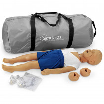 Kyle 3 Year Old CPR Manikin - Caucasian - Simulaids