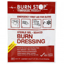 "4"" x 4"" Burn Stop Dressing, Water-Jel"