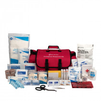 First Responder Kit, 151 Piece, Fabric Case, First Aid Only