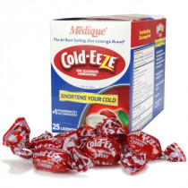 Cold-Eeze Lozenges Box with Lozenges in front