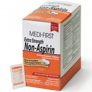 Non-Aspirin Extra Strength, 500/box, Medi-First