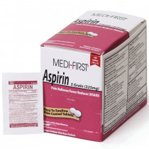 Aspirin, 100/box, Medi-First