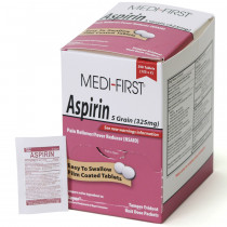 Aspirin, 250/box, Medi-First
