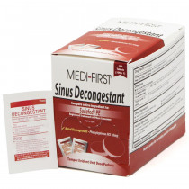 Sinus Decongestant, 100/box, Medi-First