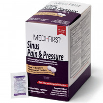 Sinus Pain & Pressure, 500/box, Medi-First