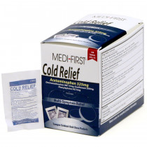 Cold Relief, 100/box, Medi-First