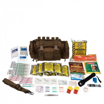Emergency Preparedness, 1 Person, Tan Fabric Bag, First Aid Only