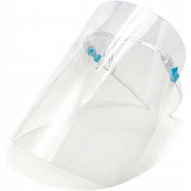 SE Protective Face Shields With Glasses, Anti-Fog, Clear, 5-Pack