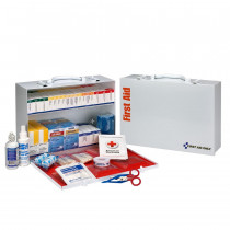 2 Shelf First Aid ANSI B+ Metal Cabinet, with Meds -  First Aid Only